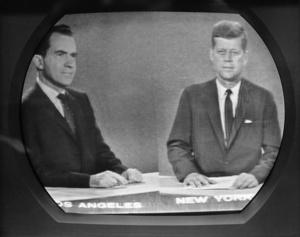 JFK and Richard Nixon Debate on National TV